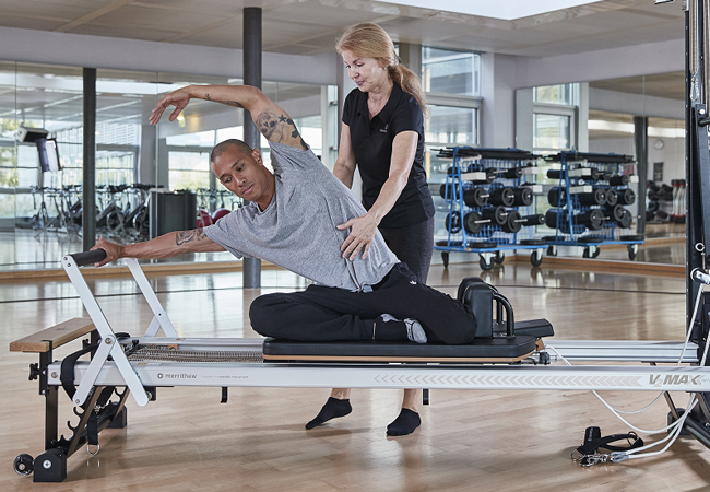 2 x Private Pilates Classes at Holmes Place