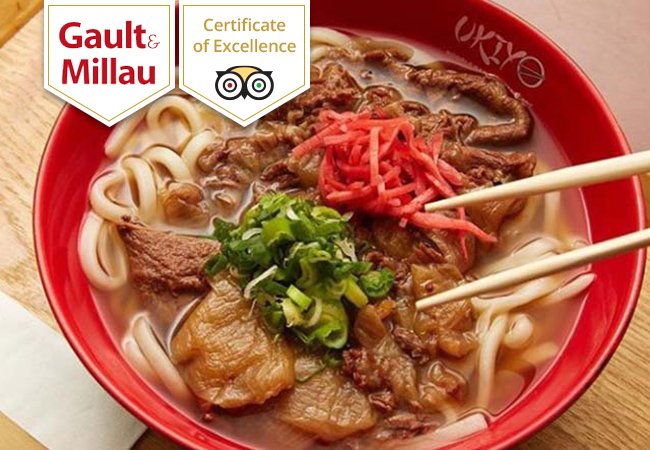 UKIYO Ramen & Noodle Bar (Gault&Millau Selection): CHF 80 Credit