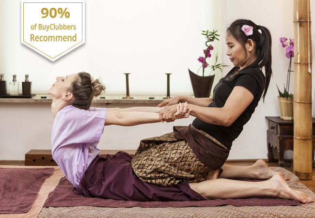 1 Hour Thai Massage at Cha Ba Thai