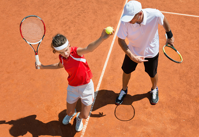 2 x Private Tennis Lessons for Adults or Kids with Diego Rogriguez