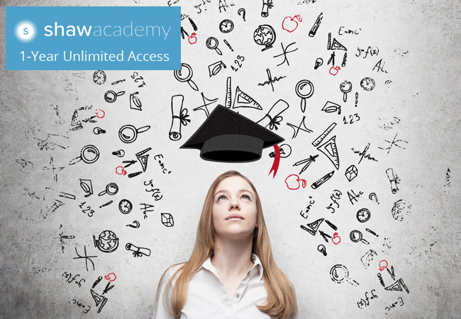 1-Year Access to All Online Courses by Shaw Academy