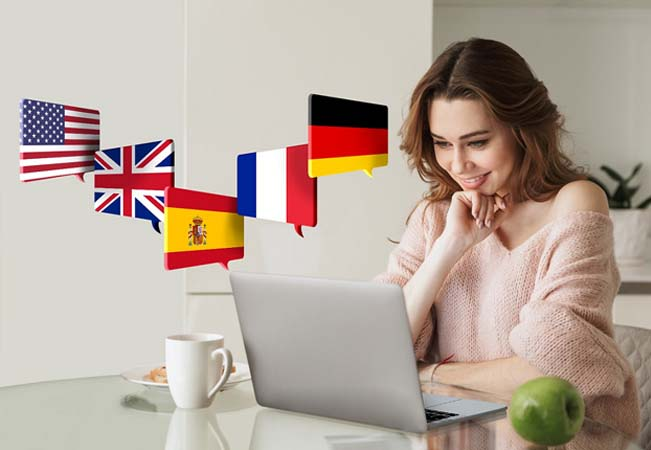 Online Language Courses with Telelangue