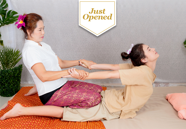 Just Opened: Thai Massage at Dao Luang