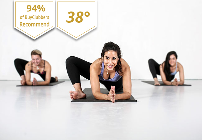 Hot Yoga at Yoga Flame Geneva: 5-Class Pass