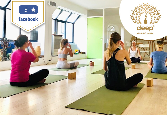 Yoga at Deepti: 5 or 10 Clasees