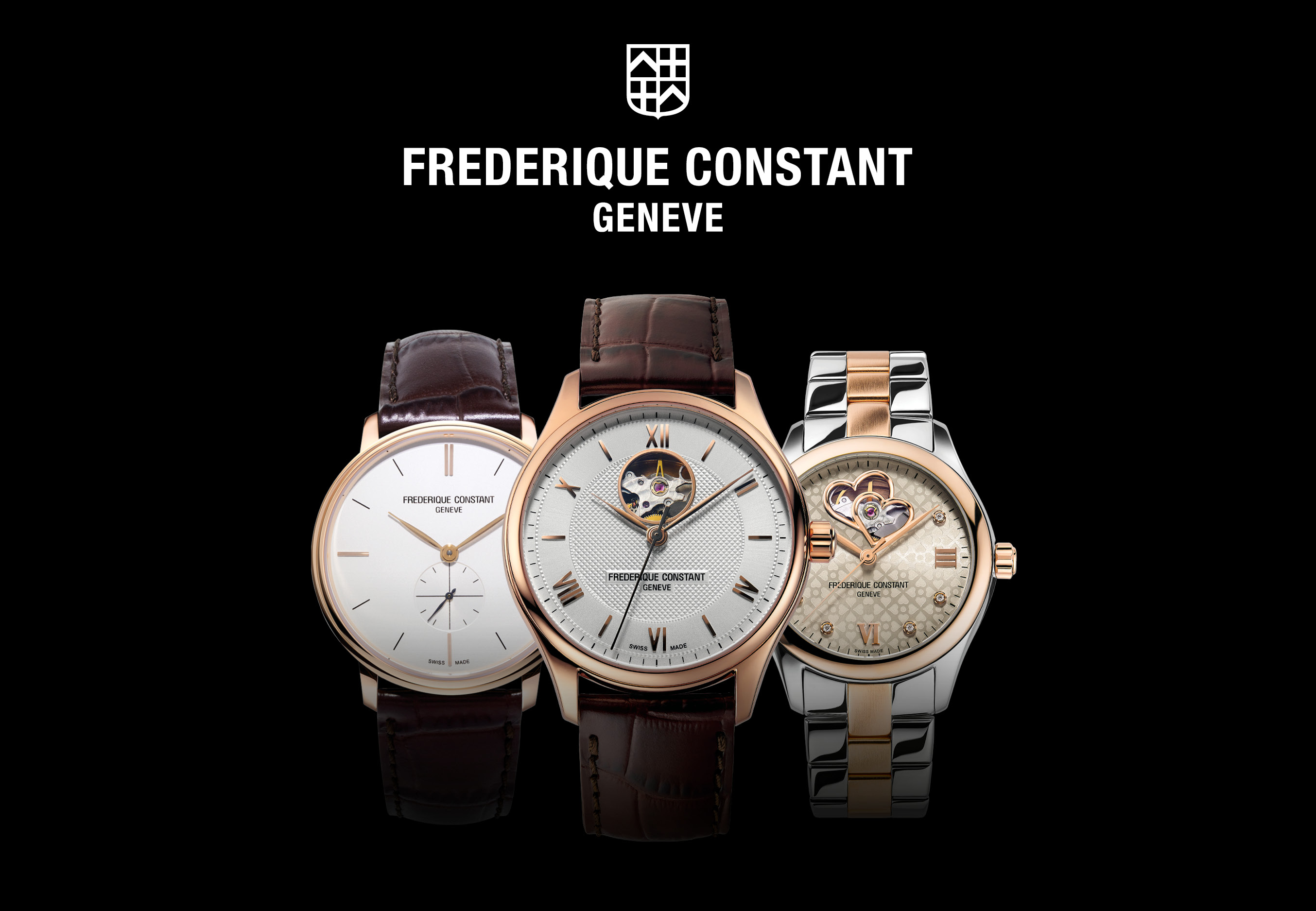 Frederique Constant Watches for Men & Ladies (Pre-Xmas Delivery)