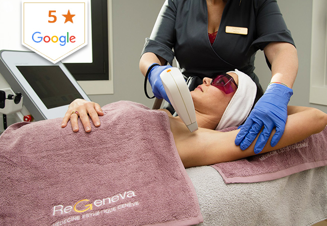 Laser Hair Removal at ReGeneva