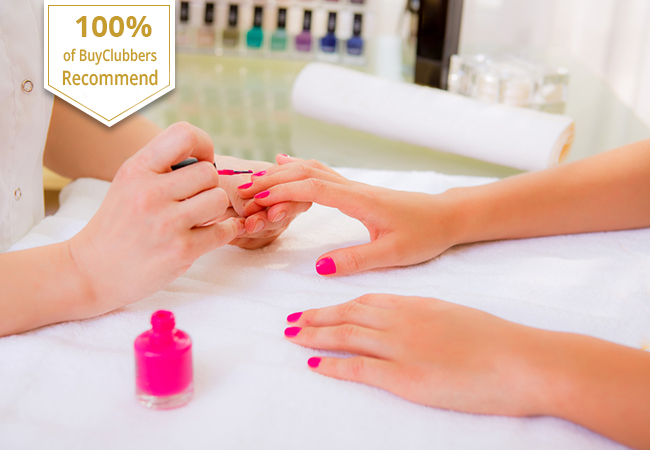 Semi-Permanent Mani-Pedi at Jardin d'Essences Champel