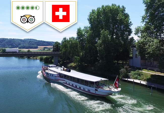 Boat Cruise on Les 3 Lacs: 1-Day Unlimited Pass