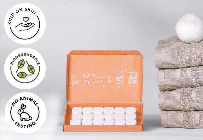 18 Laundry Tabs + 25 Dishwasher Tabs by BatmaidClub.ch