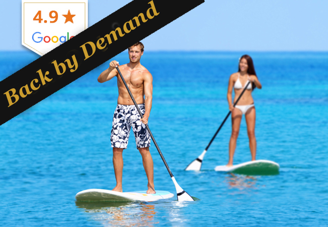 Stand Up Paddle or Wakeboarding at Twin's Club Versoix