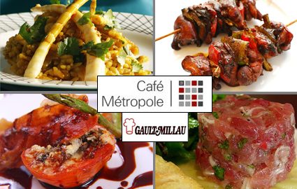 CHF 40 for CHF 80 of Award Winning  Asia-Euro Fusion Dinner at Cafe Me... Image