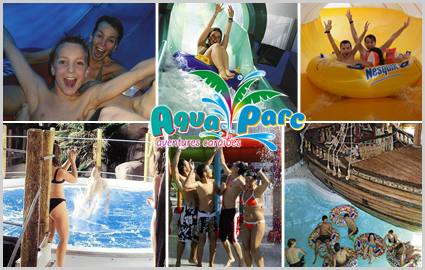 CHF 28 instead of CHF 47 for a Full Day at Aquaparc. Buy up to 10 vouchers  Image