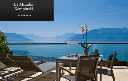 CHF 489 instead of CHF 1100 for a Dream Stay at the 5 Star Mirador Kempinski nea... Image