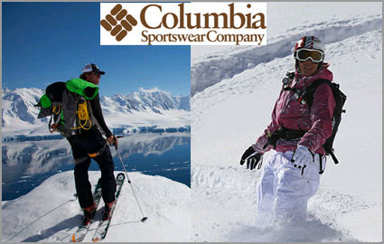 Columbia clothing store