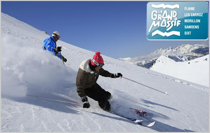 CHF 25 Instead of CHF 50 for a Full Day Ski Pass at Le Grand Massif: Flaine, Les... Image