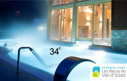 34 degrees just 90 minutes from GVA: CHF 30 instead of 60 for daily pass fo... Image
