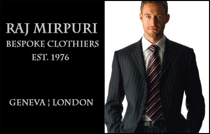 CHF 599 instead of CHF 1880 for a Bespoke Tailor-Made Suit by Raj Mirpuri: ... Image
