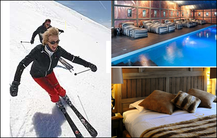 Valid winter 2012 and 2013: luxury stay in Courchevel, one of Europe's best ski resorts. 1 night for 2 people in the 5 Star Pralong Hotel Courchevel, on the slopes, for CHF 350 instead of 770. Just 2 hours from Geneva  Photo