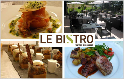 CHF 40 for CHF 80 of Modern Gourmet Cuisine at Le Bistro by Olivier Brasselet: r... Image