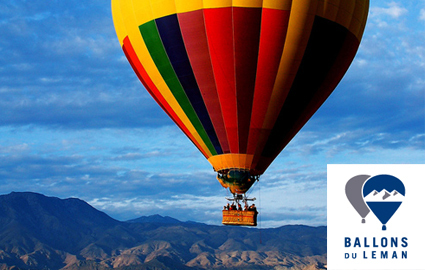 CHF 419  From CHF 249 Amazing experience, ideal gift:  Hot Air Balloon Ride (4 hours total experience) departing from Geneva / Rolle / Gstaad with BALLONS du LEMAN. Breath... Photo