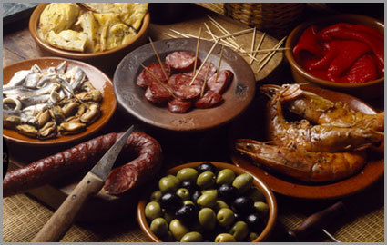 Club Ch Chf 37 For A Bottle Of Spanish Wine Pata Negra Platter At Tapas Nocturnes