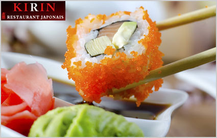 CHF 30 for CHF 60 of Sushi & Japanese Specialties at Kirin Sushi 