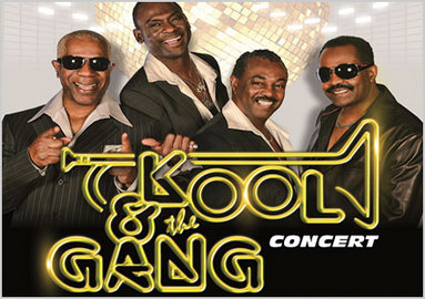 Kool & The Gang live in Geneva: August 23 at Geneva Art Festival