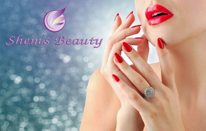 Nail pampering at the brand new Shem's Beauty Salon in Eaux Vives: