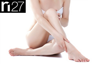 how to make waxing legs less painful