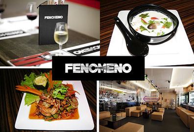 Trendy nights & tasty Thai dishes at Fenomeno Bar & Lounge: CHF 39 instead of CHF 90 for Afterwork Bar Menu for 2 people including starter, main & drinks  Photo