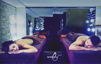 CHF 170 From CHF 79  75 minutes massage or duo-massage (for 2 together) at  Armony 5 Sens spa . Choose from: Hot stone, California, or Sport massage Photo