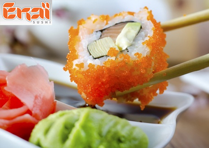 CHF 20 for CHF 40 of Sushi at Ekai Sushi LSN; Valid lunch & dinner, eat... Image