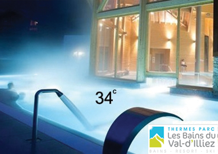CHF 44 From CHF 25 for 2 people 34 degrees all winter, just 90 minutes from Gene... Image