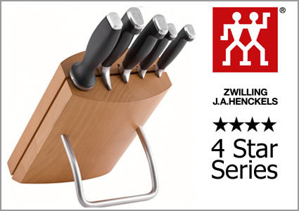 zwilling 6 piece knife block buyclub geneva. Black Bedroom Furniture Sets. Home Design Ideas