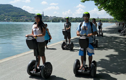 From CHF 69  CHF 34.5 Guided Segway tour of Annecy for 2 people, valid... Image