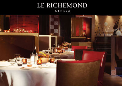 5-Star Menu at Hotel Richemond's Le Jardin Restaurant