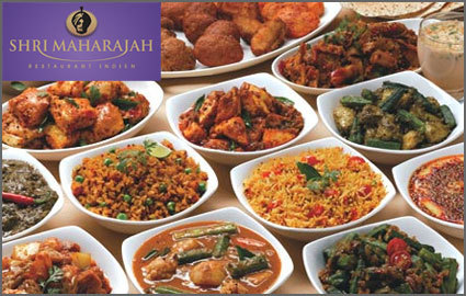 Chf 30 for chf 60 of food drinks at shri maharajah for Amani classic punjabi indian cuisine