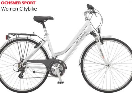 City Bike Stoke Cross Town (21-speed) from Ochsner Sport