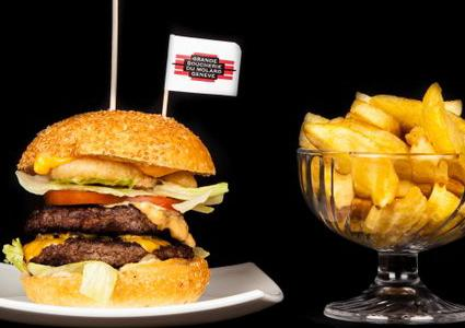 2 Gourmet Burgers & 2 Starters at FMR Funky Monkey Room