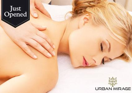 Just Opened: Massage or Facial at Urban Mirage Luxury Beauty Lounge