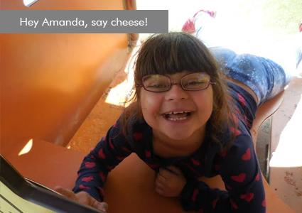 Help us send Amanda to special-needs camp this summer