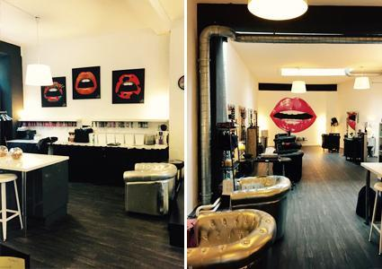 Opi mani pedi at gossip coiffure salon in plainpalais for 128 faubourg salon by sothys