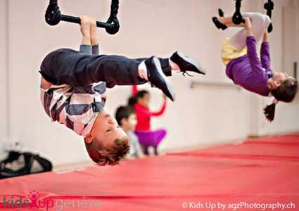 Circus Camps with Kids Up (During School Breaks)