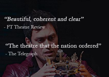 CHF 30 CHF 19.90 for 1 Ticket  Shakespeare's Henry V Performed by The Royal Shakespeare Company, Broadcast Live from England to Geneva   Wednesday October 21 20h, Pathé Balexert. Ticket includes entry +  champagne glass     Photo
