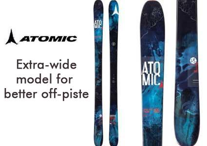ATOMIC Skis + Bindings from Ochsner Sport