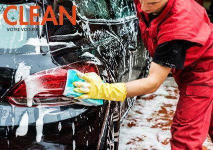 Exterior Car Wash by Hand at Clean Cars