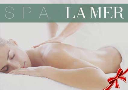 LA MER® Spa at Hotel President Wilson: Massage + Body Scrub Package