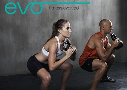 4 Personal Training Sessions at EVO Fitness Club