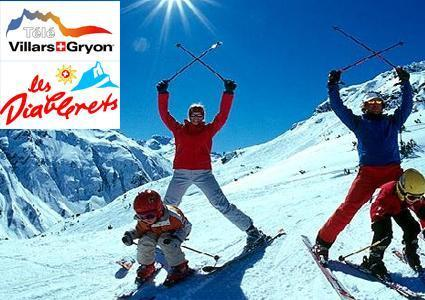 Ski Pass to Villars-Diablerets-Gryon, valid 7/7 all season